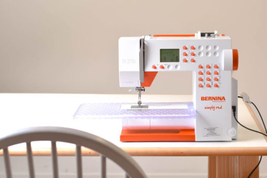 BERNINA 215 SIMPLY RED: EEN REVIEW