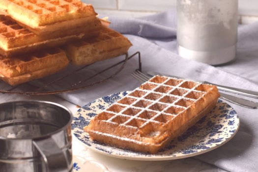 Brusselse wafels: recept